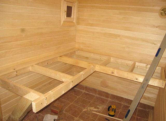 Скамейка для бани своими руками: 8 вариантов конструкций