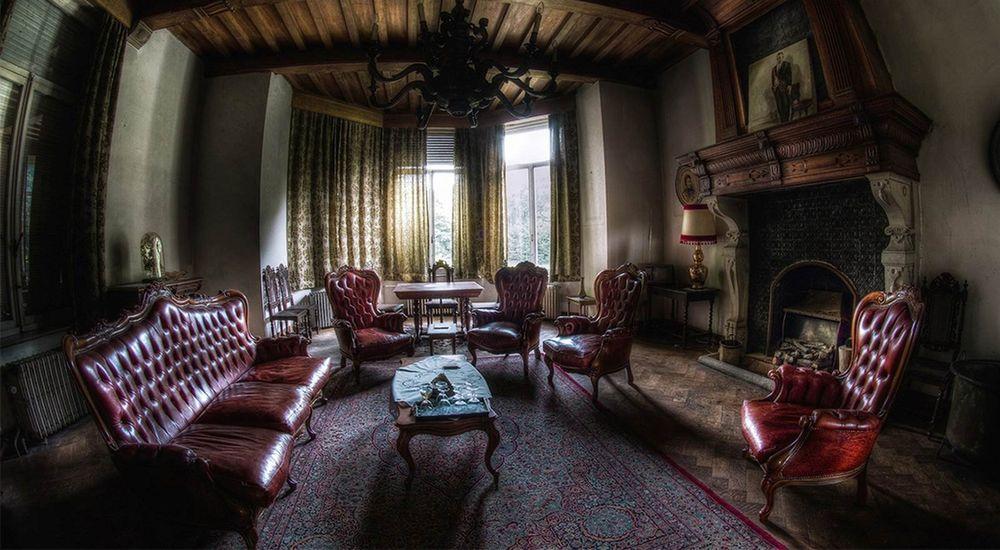 Готический стиль гостиная