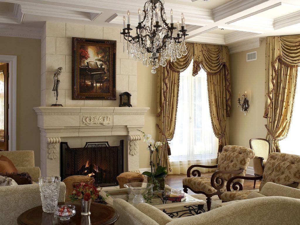 Классицизм гостиная
