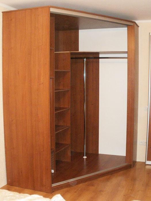шкаф в спальню своими руками