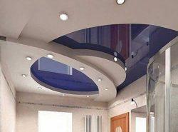Многоуровневый натяжной потолок сделает ваше помещение стильным и неповторимым
