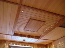 Отделка потолка вагонкой - это одновременно великолепное, практичное и экономически выгодное решение для любого помещения