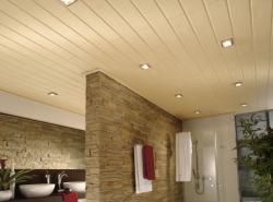 Потолки из пластиковых панелей влагоустойчивы, безопасны для здоровья и долговечны