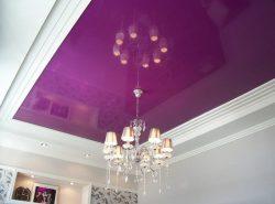 Натяжной потолок - неотъемлемый атрибут оформления потолочной поверхности в современных домах