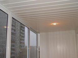 Пластиковые панели для потолка