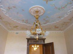 Художественная роспись потолков – оригинальный способ оформления комнаты