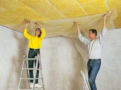 Утепление потолка в частном доме позволит не только снизить теплопотери в холодное время года, но и сэкономить на отоплении