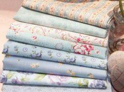 Ткани для пэчворка поражают разнообразием цветов и принтов