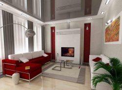 Правильно скомбинировав обои в гостиной вы достигаете эксклюзивности ее дизайна