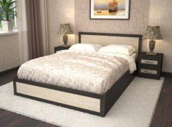 При выборе двуспальной кровати всегда первым встает вопрос – ее ширина