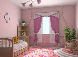 Розовые обои - это очень интересный вариант для отделки стен вашей комнаты