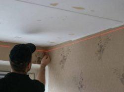 Чтобы правильно определить количество закупаемого отделочного материала для потолка, необходимо точно рассчитать его площадь