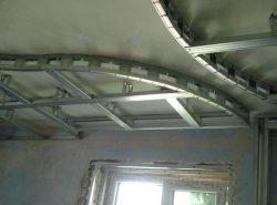 Точная разметка потолка — залог успешного монтажа каркаса под гипсокартон