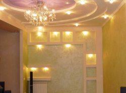 Выбор светильников напрямую зависит от дизайна и назначения комнаты