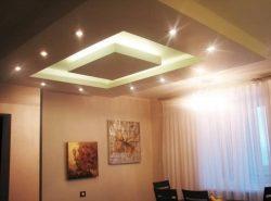 Многоуровневый потолок — оригинальный и стильный способ придать комнате неповторимый дизайн