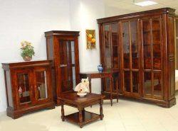 Мебель из массива для гостиной грациозна, изысканна и красива