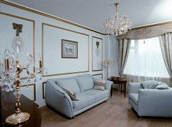 Молдинги в интерьере жилого помещения служат для обрамления различных элементов декора