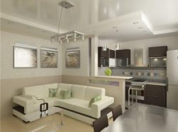 Правильное совмещение кухни с комнатой даст вам больше свободного пространства