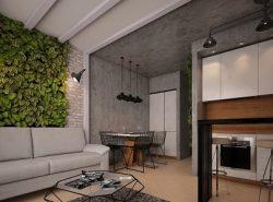 Соединение кухни и гостиной позволит воплотить в жизнь самые смелые дизайнерские идеи и фантазии