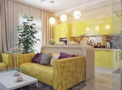 Объединение кухни и гостиной - популярное современное решение, позволяющее максимально рационально использовать пространство