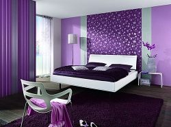 Сиреневый цвет отлично освежает интерьер, благодаря чему он пользуется заслуженной популярностью у дизайнеров