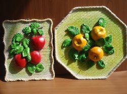 Из соленого теста можно создавать как маленькие сувениры, так и объемные панно любых размеров и конфигураций