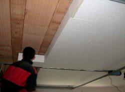 Утепление потолка сделает дом теплым и комфортным вне зависимости от погодных условий