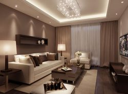 Для маленьких гостиных лучше всего выбирать мебель с раскладываемой конструкцией