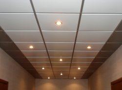 Металлические подвесные панели обладают прекрасным видом и отличаются высокой надежностью