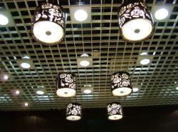 Светильники для потолка грильято экологически безопасны и бесшумны в использовании