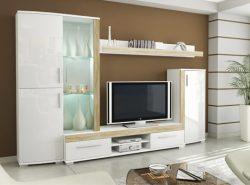Мебель белого цвета, кажется, никогда не выйдет из моды, она с каждым годом набирает все больше популярности