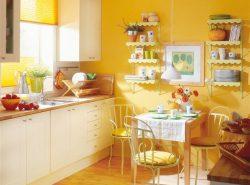 Красивые и практичные обои на кухню можно подобрать самостоятельно