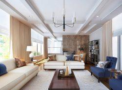 Необходимо продумывать дизайн гостиной до самых мелочей, ведь это главная комната в доме