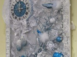 Новогоднее панно будет украшением любого помещения к Новому году