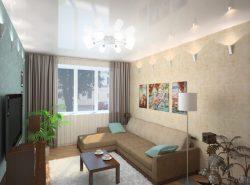 Существует множество видов дизайна для гостиной, поэтому даже небольшое помещение можно оформить со вкусом
