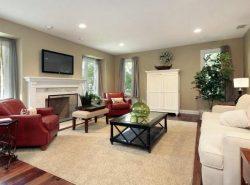 Интерьер гостиной должен быть теплым и уютным, который создает радостную атмосферу