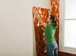 Виниловые обои достаточно популярный материал, который используется для отделки стен