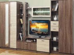 На сегодняшний день рынок предоставляет широчайший ассортимент мебели, в том числе и стенок для гостиных