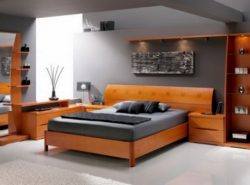 Чтобы сделать красивый и элегантный дизайн, необходимо выбирать модульную мебель для спальни