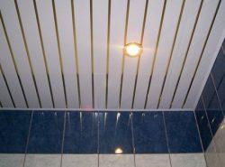 Потолок из сайдинга обладает хорошими эксплуатационными и эстетическими качествами