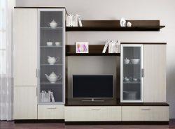 Модульная мебель является очень практичной за счет компактности и отличных эстетических качеств