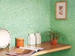 Жидкие обои — отличная альтернатива надоевшим рулонным полотнам