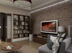 Перед оформлением гостиной необходимо создать проект, где будут учитываться все особенности комнаты