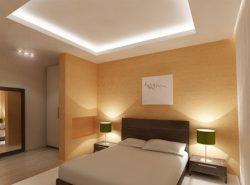 Двухуровневый потолок с подсветкой — отличное решение для создания современного интерьера