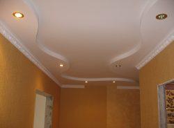 Гипсокартон – это отличный материал, который поможет сделать потолок ровным, красивым и практичным