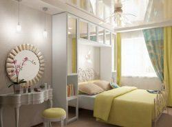 Для спальни в хрущевке следует правильно выбирать дизайн, учитывая все особенности помещения