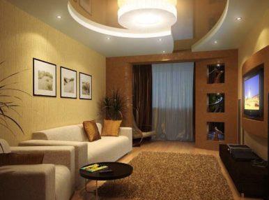 Современный дизайн зала, чтобы он подошел для каждого члена семьи, можно обустроить даже самостоятельно