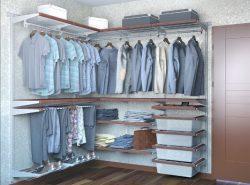 Гардеробная – это отличный вариант быстро и легко спрятать как одежду, так и обувь