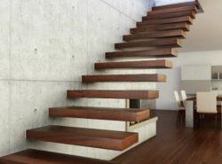 Лестница в доме должна быть не только красивой, но и безопасной