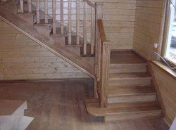 При обустройстве лестницы на второй этаж, все должно быть продумано до мелочей